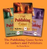 Photos of book covers.  Click here for more information on 'The Publishing Game'